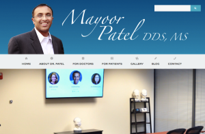 Dr. Mayoor Patel - Website content for mpateldds.com